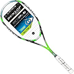 Aerogel: Dunlop aerogel rackets incorporate the world's lightest solid, which has a strength of up to 4, 000 times its own weight. The three-dimensional nanometer-sized molecular network delivers an unmatched strength to weight ratio for enha...