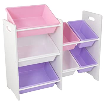 KidKraft Storage Bin, White