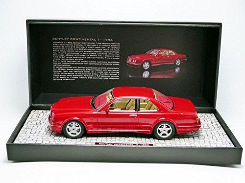 Minichamps 107139940 - Bentley Continental T - 1996 - 1/18 - Rojo Metal: Amazon.es: Juguetes y juegos