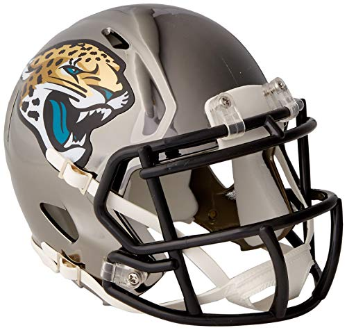 Riddell Chrome Alternate NFL Speed Authentic Mini Helmet Jacksonville Jaguars -