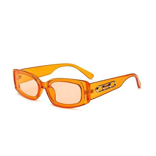 Yangjing-hl Personalidad de la Moda Caja pequeña Gafas de ...
