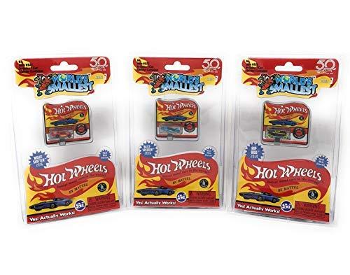 (Worlds Smallest Hot Wheels Series 3 Bundle Set of 3 Cars - 2016 Blitz Speeder - 2016 Night Shifter - 2014 Rip Rod)