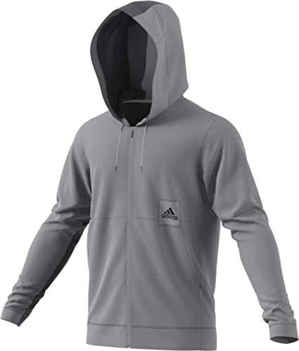 8bc21e1266 Amazon.com: adidas Men's Cross Up 365 Full-Zip Hooded Sweatshirt ...