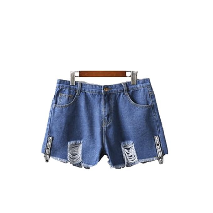FuweiEncore Pantalones Cortos de Las Mujeres Pantalones ...
