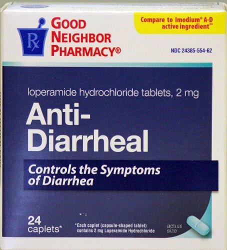 GNP Anti-Diarrheal (24 Caps) (Loperamide Caps)