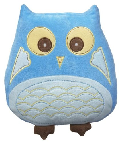 Ganz Owl Pillow BLUE