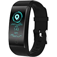 Smart Fitness Tracker, IP67 Waterproof Fitness Tracker Pedometer, Adjustable Wristband(14-20cm Smart Bracelet with Sleep Monitor, Step Calorie Counter for Android or iOS Smartphones