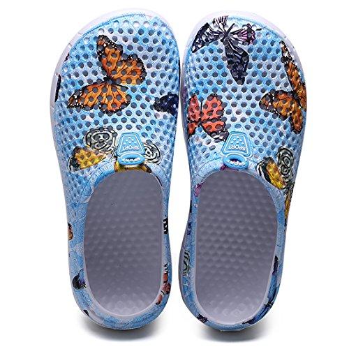 Margay Blue Femme YY Butterfly 161 Mules 8qgwP8