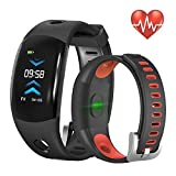 Fitness Tracker,abelanja Activity Tracker Watch with Continuous Heart Rate Monitor, IP68 Waterproof calorie counter watch with bluetooth Pedometer Sleep Monitor Watch with 3D CLR Dynamic for Kids M/F