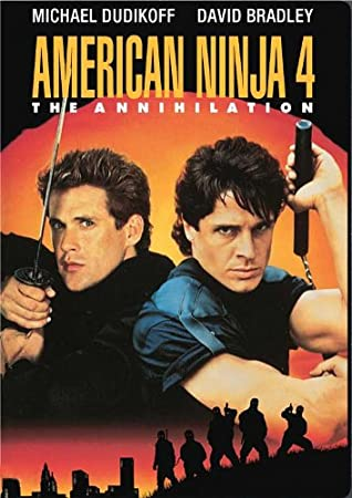 Amazon.com: American Ninja 4: The Annihilation Poster Movie ...