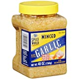 Spice World Minced Garlic - 48 oz. (2 Pack)