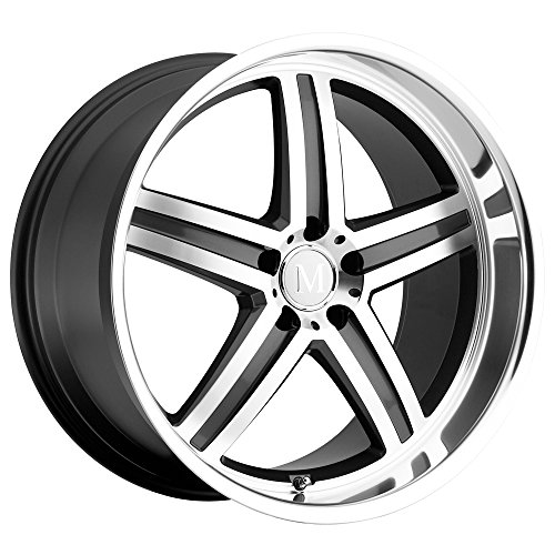 Mandrus MANNHEIM Grey Wheel with Painted Finish (18 x 8.5 inches /5 x 127 mm, 25 mm ()