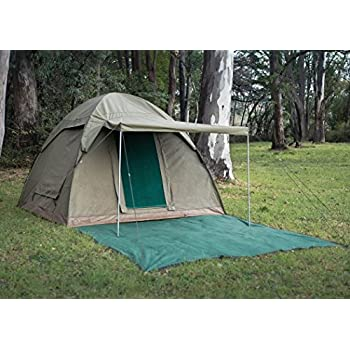 Alpha Kilo 4000 Canvas 6 Person Bow Tent c&ing tent and outfitter tent with waterproof  sc 1 st  Amazon.com & Amazon.com : Alpha Kilo 4000 Canvas 6 Person Bow Tent camping ...
