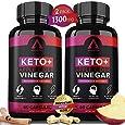 (2 Pack) Keto Diet Pills + Apple Cider Vinegar Capsules + MCT Oil, BHB Supplement Exogenous Ketones - Supports Weight Management, Fat for Energy for Women Men - Best Advanced Keto Max Boost ACV Pills