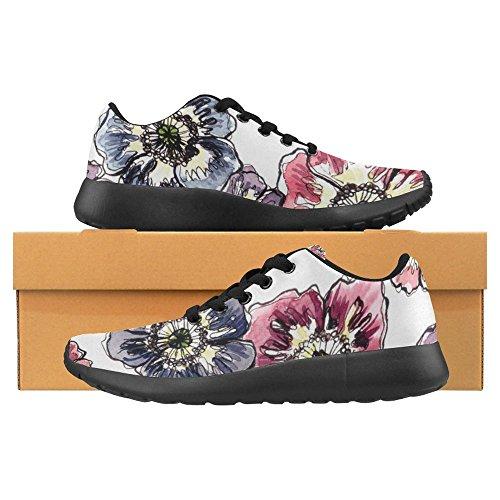 InterestPrint Womens Jogging Running Sneaker Go Easy Walking Casual Comfort Sports Running Shoes For Women Multi 13 9tgLDUJgOE