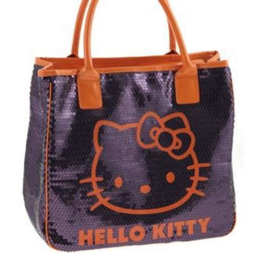 Hello Kitty, Borsa a mano donna multicolore multicolore
