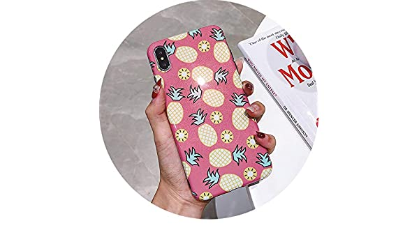 Amazon.com: Phone Case for iPhone 7 XR XS Max Orange Pineapple Soft Silicone Cover Cases for iPhone X 8 7 6 6s Plus,IK84-BIMDZG09,for iPhone X: Cell Phones ...
