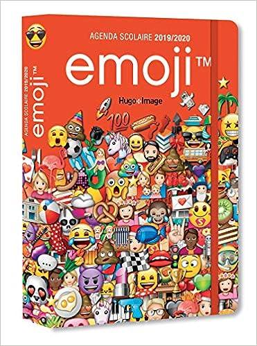 Agenda Scolaire 2019 2020 Emoji Amazon Fr Collectif Livres