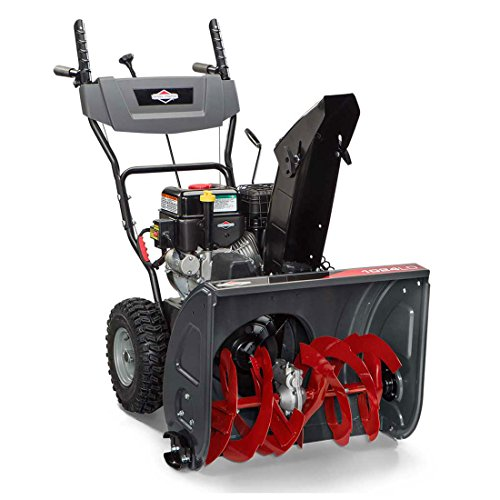 """Briggs & Stratton 24"""" Dual-Stage Snow Blower w/Electric Start and"""