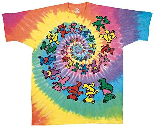 Grateful Dead - Spiral Bears T-Shirt Size L ()