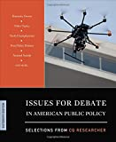 Issues for Debate in American Public Policy 16th Edition