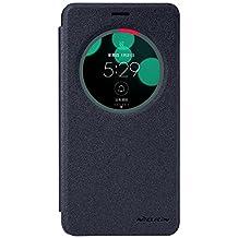Asus Zenfone 3 Laser(ZC551KL) Case, DISLAND(TM) New Window Leather Flip Case Smart Sleep PU Leather Flip PC Cover for Asus Zenfone 3 Laser(ZC551KL) [Perfect fit],Black