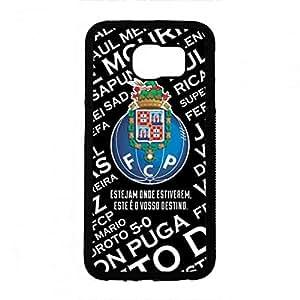Logo Pattern Futebol Clube Do Porto Funda, Stylized Funda Samsung Glaxy S6 Funda