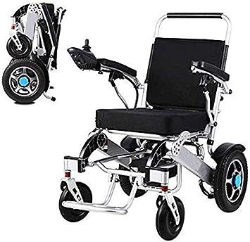 JFZCBXD Silla de Ruedas motorizada, Ligero Energía Eléctrica Silla de Ruedas Vespa, aleación de Aluminio Marco más Fuerza, para los Adultos Las Personas con discapacidad