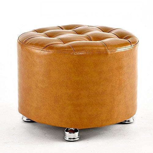 Ruhiger Hocker / Hocker / für Schuhhocker, Mode einfach, bequem und langlebig ( Farbe : Brown-A ) XIN XIN EU