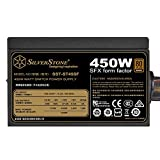 SilverStone Technology 450W SFX Form Factor 80 Plus Bronze Power Supply