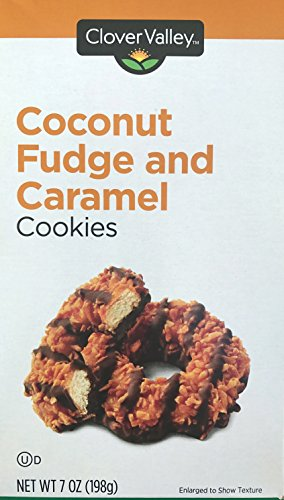 Coconut Fudge and Caramel Cookies 7oz. Just Like Samoas