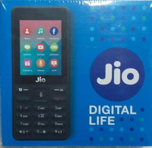 RELIANCE RETAIL JIO Phone (Dual SIM, Black, 4GB)