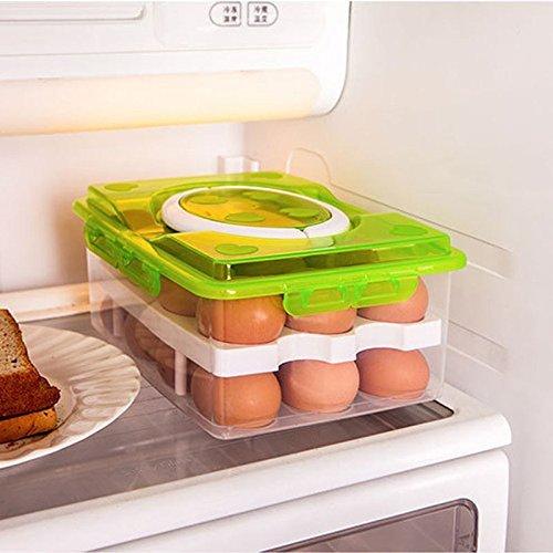 EASY SHOPE Plastic Egg Box, Egg Tray for Fridge (32 Eggs, Multi Color) Price & Reviews