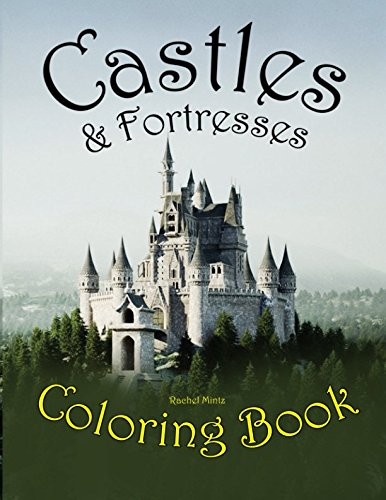 Castles Fortresses Coloring Architecture Teenagers product image