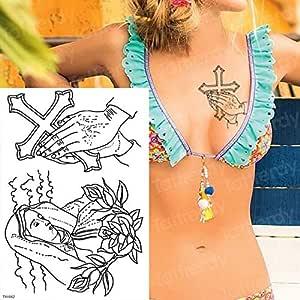 Handaxian 3 unids-Cuerpo de Pantera Negro Tatuaje Tatuaje de ...