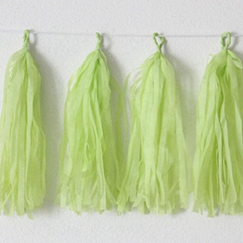 Tissue Fish Craft Kit (Wedding Decoration Wholesale 50 Pieces 35 cm Tissue Paper Tassels)