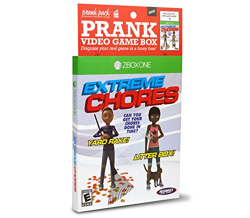 Price comparison product image Prank Pack Extreme Chores - Video Game Sleeve - ZBOX