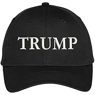 TRUMP Embroidered High Profile Adjustable Baseball Cap