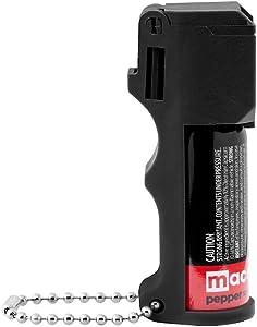 Mace Brand PepperGuard, Self Defense, Police Strength Pepper Spray with UV Dye