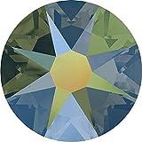 2000, 2058 & 2088 Swarovski Nail Art Gems Crystal Iridescent Green | SS30 (6.4mm) - 288 Crystals (Wholesale) | Small & Wholesale Packs