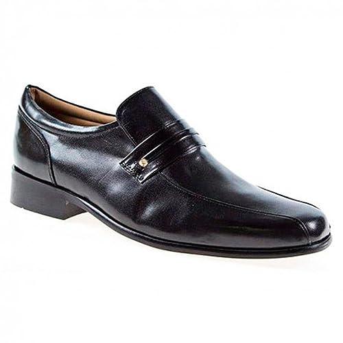 Pierre Cardin - Mocasines de Piel para hombre, color negro, talla 40 EU: Amazon.es: Zapatos y complementos