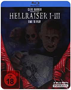 Hellraiser 1-3 - Steelbook [Alemania] [Blu-ray]