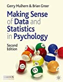 img - for Making Sense of Data and Statistics in Psychology book / textbook / text book