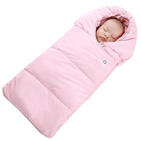 Saco de dormir para bebé, capullo de seda, otoño e invierno, engrosamiento,
