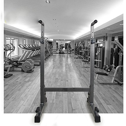 Livebest Sturdy Adjustable Strength Training Exercise Power Rack Exercise Stand Bar for Home Gym