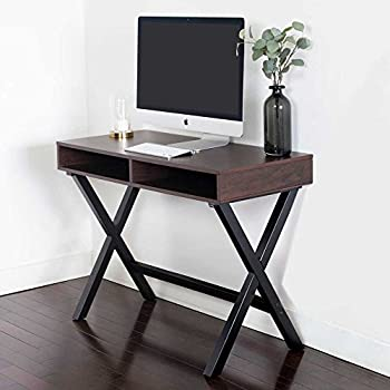 Beau Nathan James 51001 Kalos Home Office Console Table, Computer Desk, Espresso