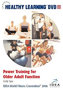 Power Training For Older Adult Function