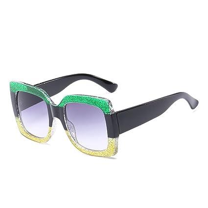 Señora Retro Gafas De Sol Protección UV Moda Gafas De Sol Playa Viajes Espejo De Conducción
