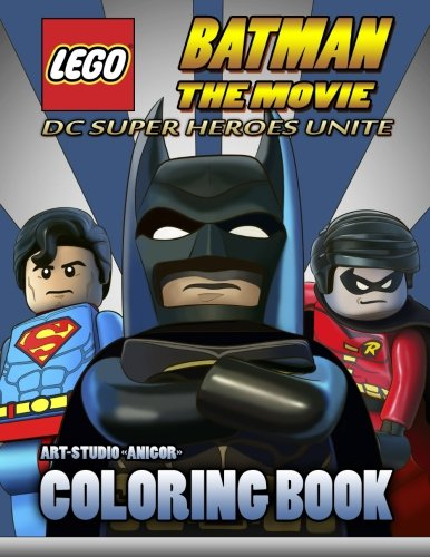 LEGO Batman the Movie: Coloring