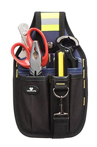 Case4Life Pochette à outils porte-outil Accessoire de ceinture parfait pour  Bricolage   électricien   plombier   constructeur   menuisier - Garantie à  vie  ... d05672a81b7